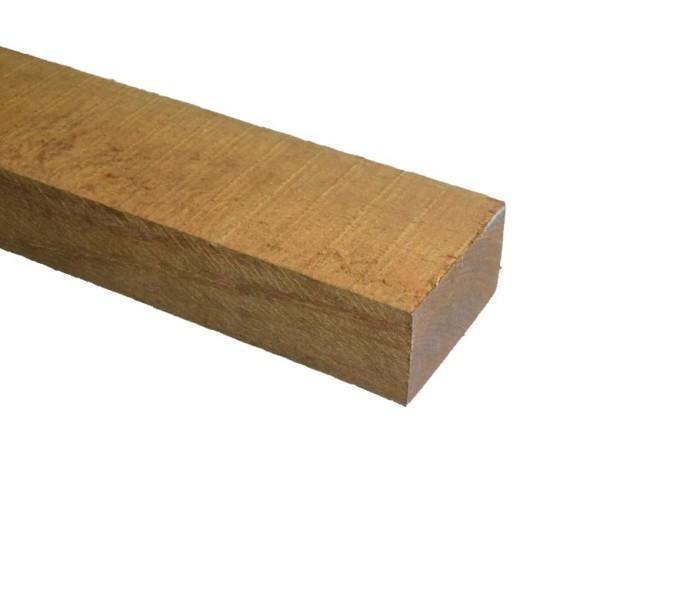 Azobé Balk ruw 50x100mm