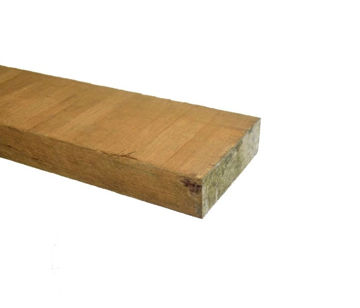 Azobé Balk ruw 50x150mm (2)