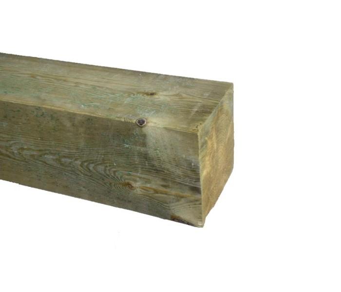 Grenen Paal geschaafd geimpregneerd 150x150mm (2)