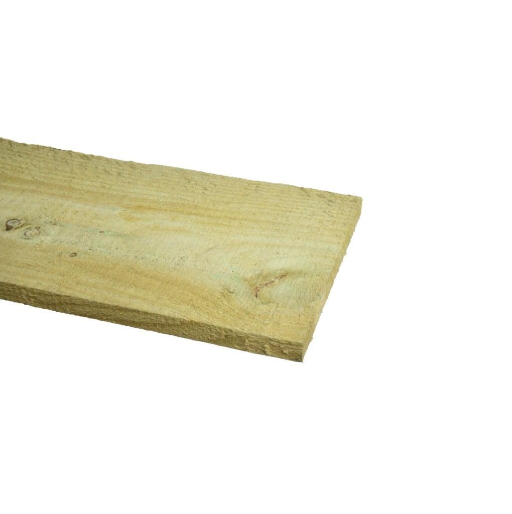 Grenen Plank ruw geimpregneerd 22x200mm