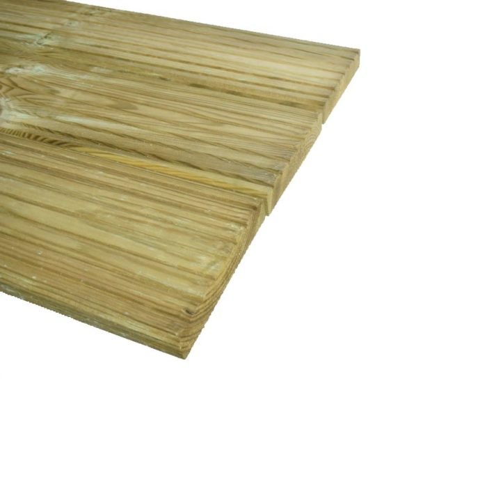 Grenen Vlonderplank geimpregneerd 28x145mm (3)