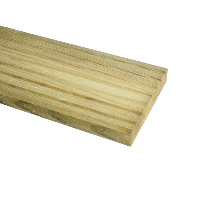 Grenen Vlonderplank geimpregneerd 28x145mm