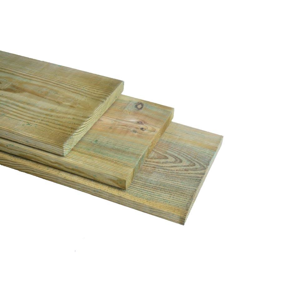 Grenen plank geschaafd geimpregneerd 20x200mm (2)