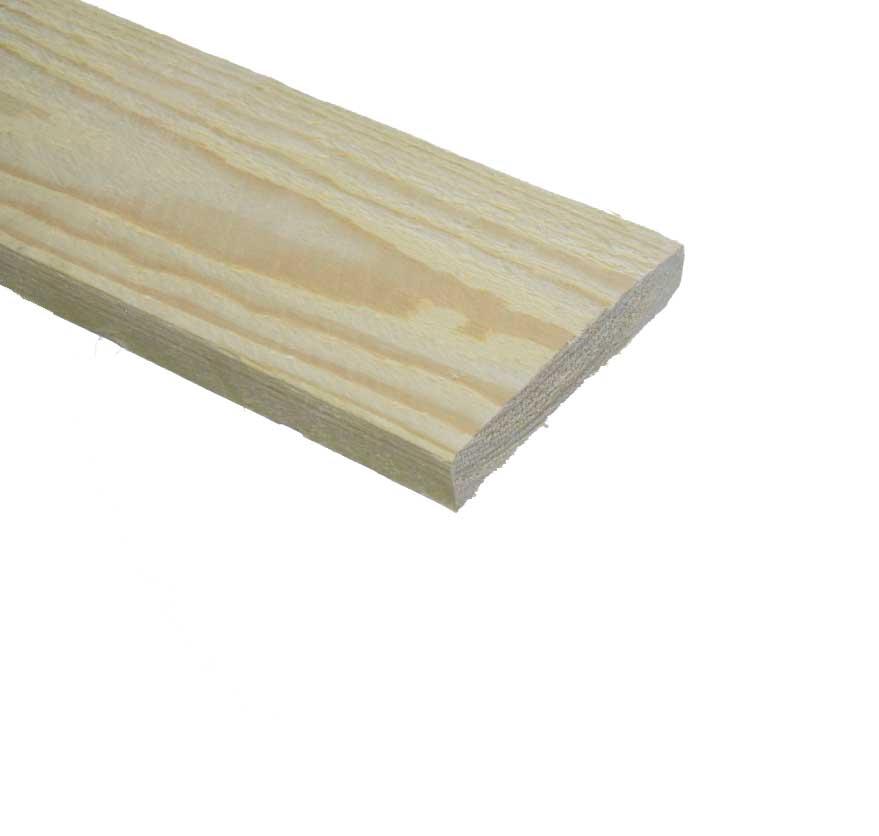 Vuren Plank ruw 22x125mm (2)
