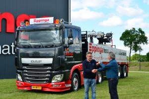 Eppinga vrachtwagen