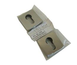 Cilinderrozet set RVS BL206