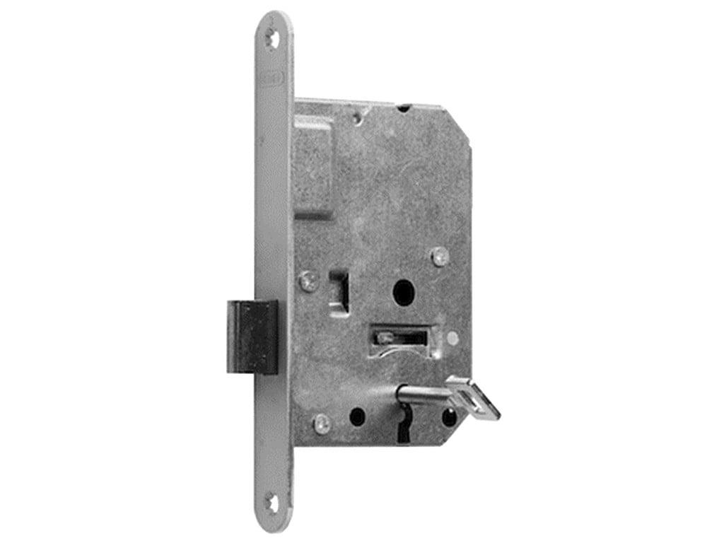 Slot Nemef 1256 kastslot met sluitplaat en 2 sleutels