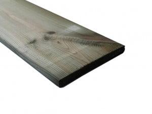 Grenen schuttingplank geïmpregneerd 17x140mm