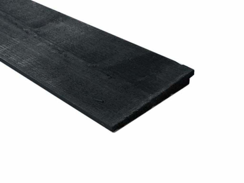 zwart tuinhout