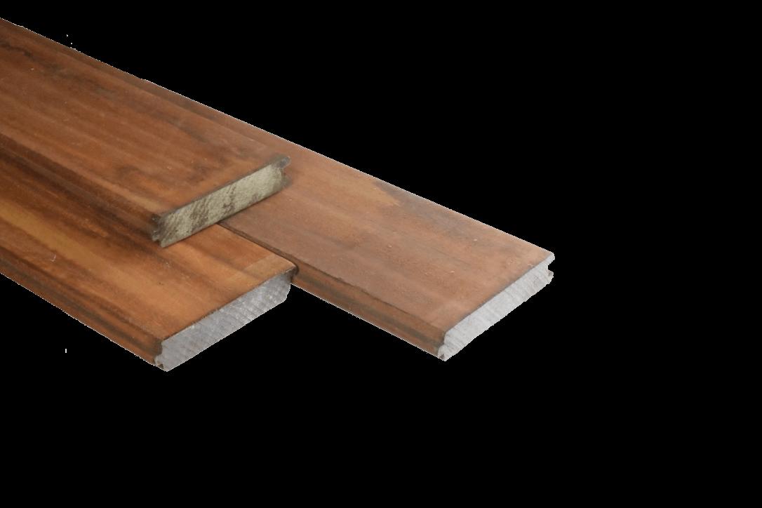 Paardenbox planken van hardhout eppinga