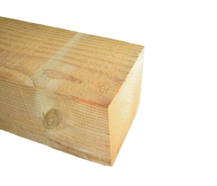 Lariks Douglas Paal ruw 150x150mm