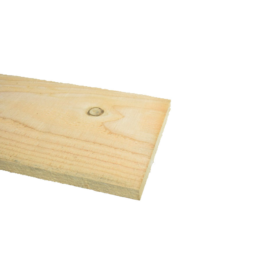 Lariks Douglas Plank ruw 20x150mm
