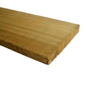 Western Red Cedar Plank ruw 46x310mm