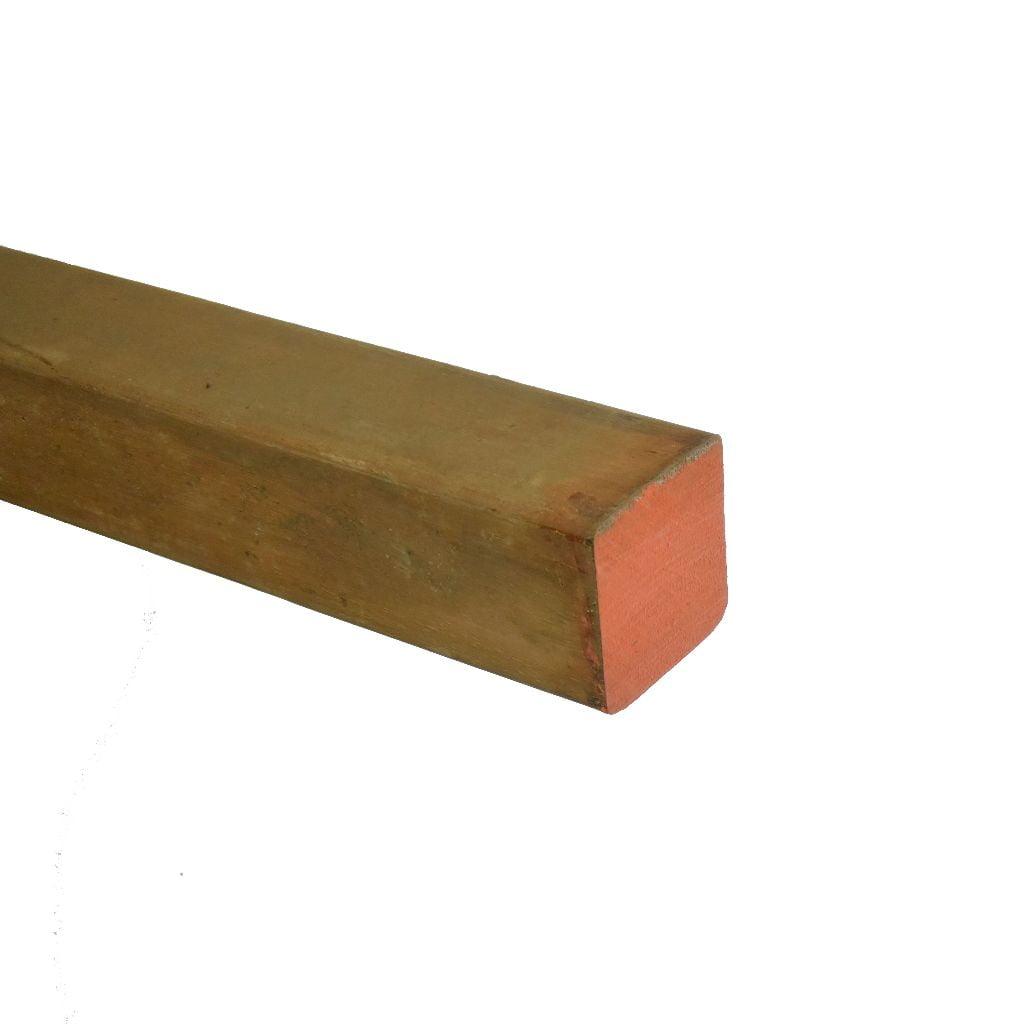 Azobé Paal geschaafd 65x65mm (2)