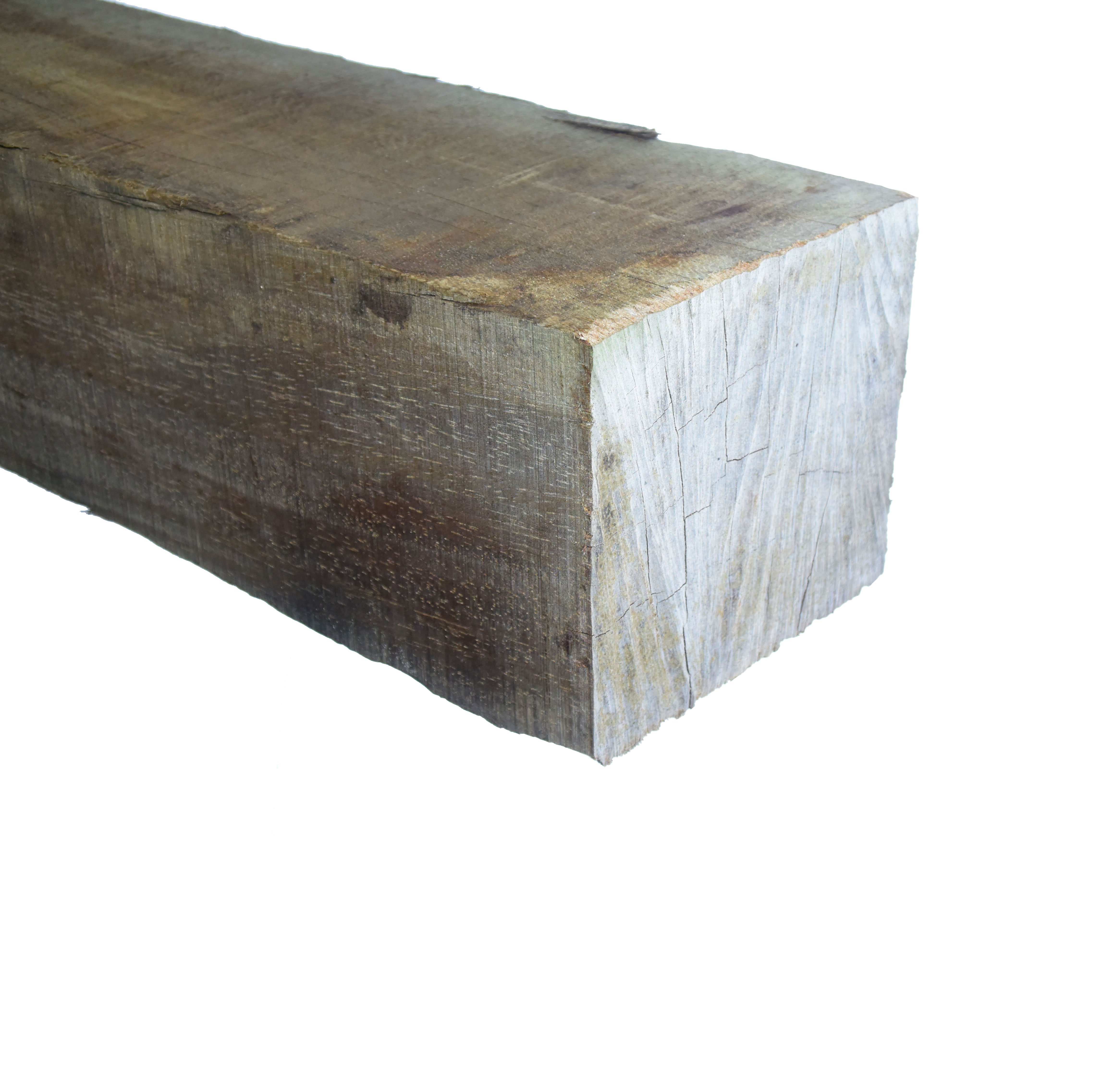 Azobé Paal ruw 150x150mm-
