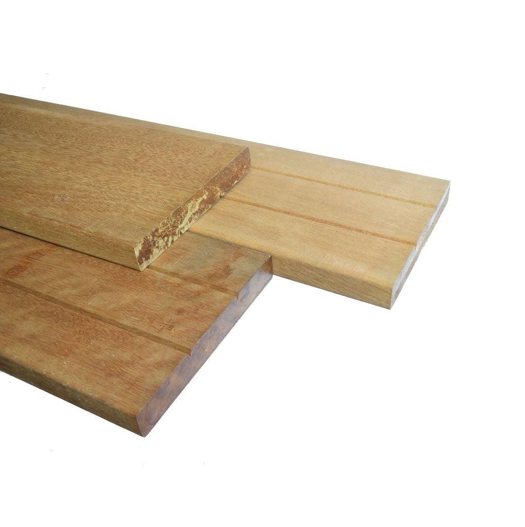 Keruing Plank geschaafd 28x190mm (3)