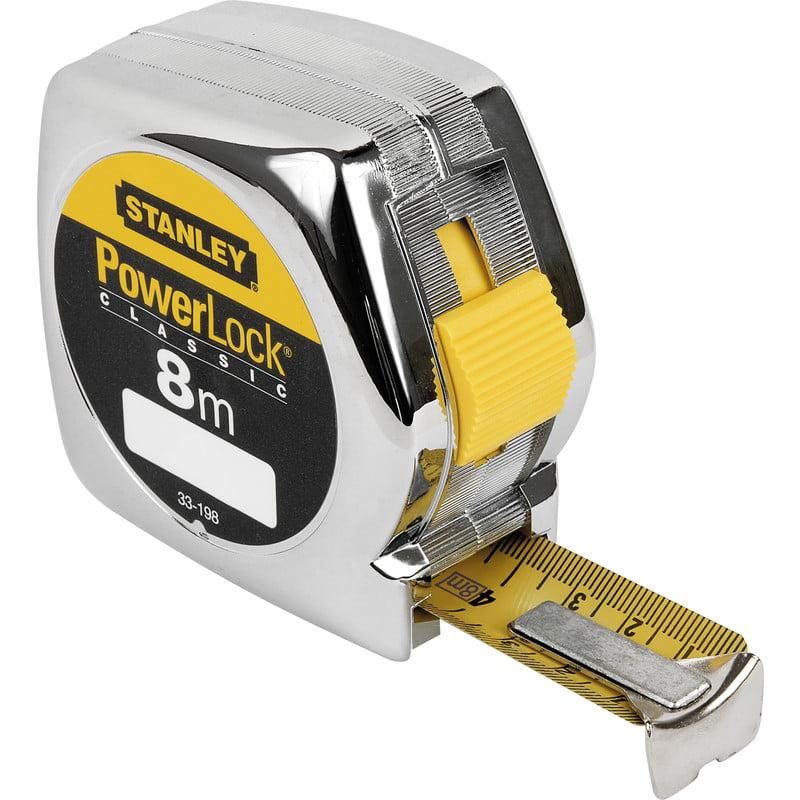 Rolbandmaat 8 meter Powerlock Stanley