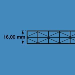 polycarbonaat platen meerwandig 16mm