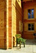 Transparante lazuur op hout