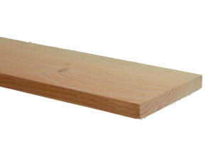 Douglas planken ruw