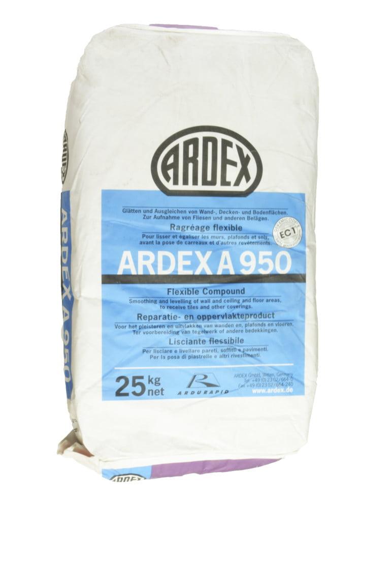 Ardex A950 Flexegalisatie grijs 25kg