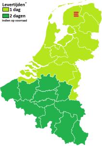 kaart nl belgie