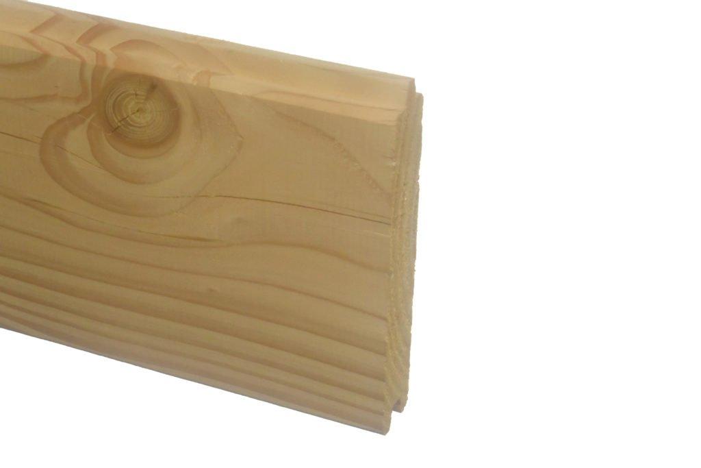 Douglas blokhutprofiel 28x180mm
