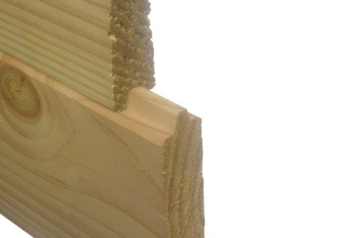 Douglas blokhutprofiel 28x130mm