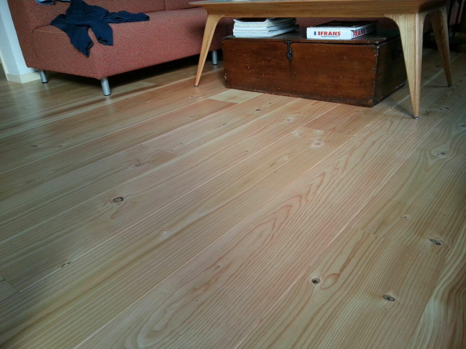 Houten Vloer Vuren : Douglas vloerdelen eppinga
