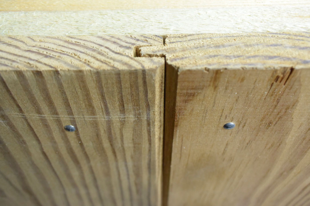 Southern Yellow Pine puntschroot 21x180mm