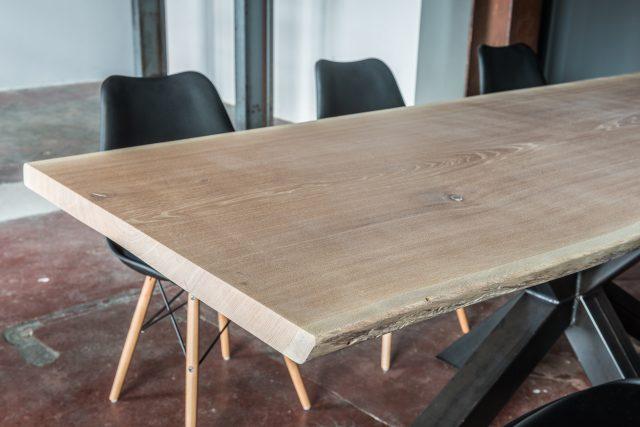 Tafelblad Massief Grenen.Eiken Tafelblad Eppinga Nl